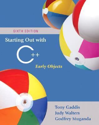 Starting Out With C++ Early Objects