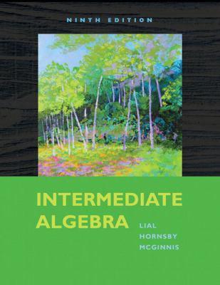 Intermediate Algebra (9th Edition)