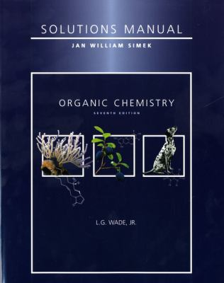 organic chemistry 7th edition solutions manual pdf