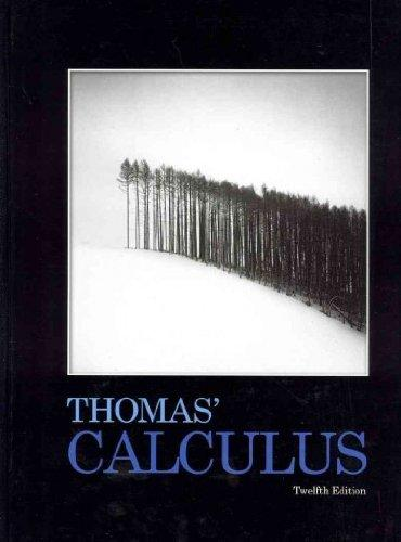 Thomas' Calculus plus MyMathLab Student Access Kit (12th Edition)