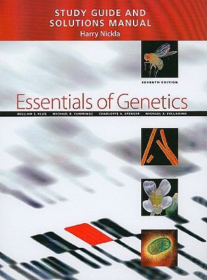 Study Guide and Solutions Manual for Essentials of Genetics, 7th Edition