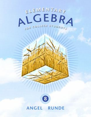 Elementary Algebra for College Students (8th Edition)