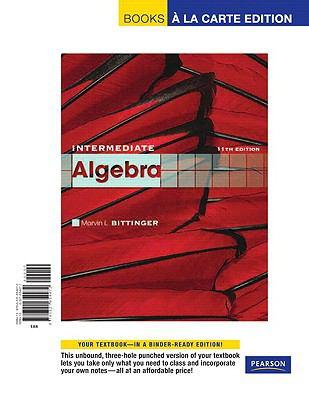 Edition 11th bittinger algebra intermediate pdf