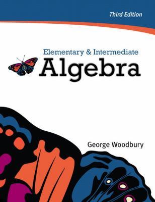 Elementary & Intermediate Algebra (3rd Edition)