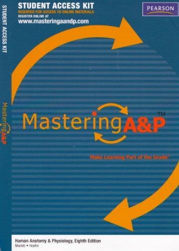 MasteringA&P -- Standalone Access Card -- for Human Anatomy &Physiology