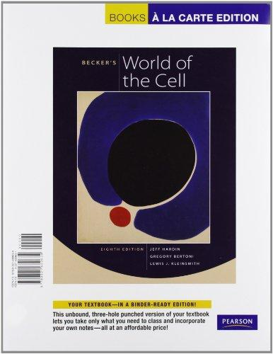 Becker's World of the Cell, Books a la Carte Edition (8th Edition)