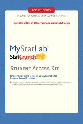 MyStatLab -- Standalone Access Card