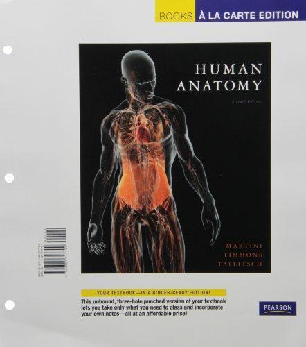 Human Anatomy, Books a la Carte Plus MasteringA&P -- Access Card Package (7th Edition)