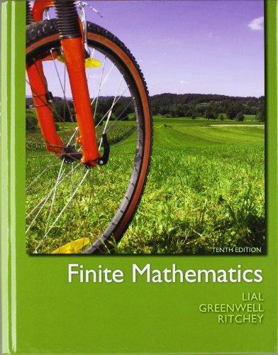 Finite Mathematics plus MyMathLab/MyStatLab -- Access Card Package (10th Edition)