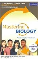 MasteringBiology with Pearson eText -- Standalone Access Card -- for Biology: Science for Life with Physiology (4th Edition)
