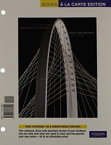 University Physics Plus Modern Physics, Books a la Carte Plus MasteringPhysics -- Access Card Package (13th Edition)