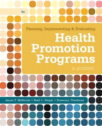 planning implementing and evaluating health promotion programs 6th edition pdf
