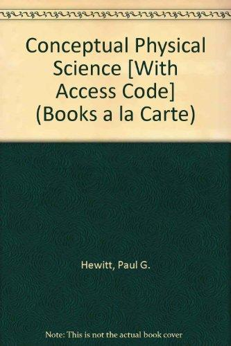Conceptual Physical Science, Books a la Carte Plus MasteringPhysics with eText -- Access Card Package (5th Edition)