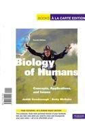 Biology of Humans: Concepts, Applications, and Issues, Books a la Carte Plus MasteringBiology -- Access Card Package (4th Edition)