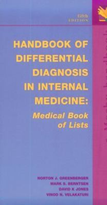 Handbook of Differential Diagnosis in Internal Medicine