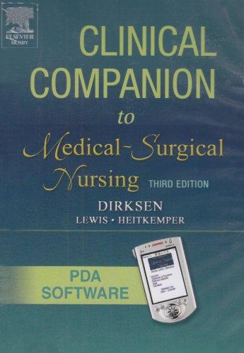 Clinical Companion To Medical Surgical Nursing: CD-ROM PDA Software