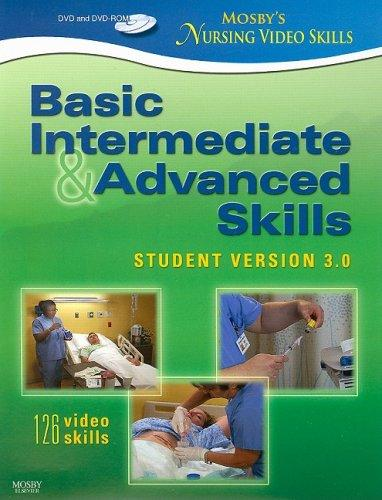 Mosby's Nursing Video Skills - Student Version Dvd 3. 0