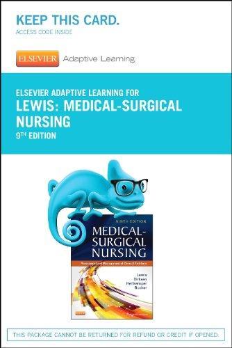 medical surgical nursing lewis 9th edition pdf