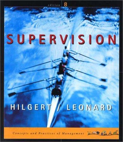 supervision and management concept and theory Peter drucker (1909-2005) wrote one of the earliest books on applied management: concept of the corporation (published in 1946) branches of management theory also exist relating to nonprofits and to government: basic supervision motivation.