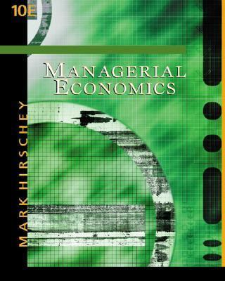 Managerial Economics With Infotrac