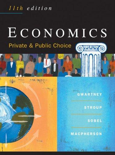 Economics: Private & Public Choice, 11th Edition