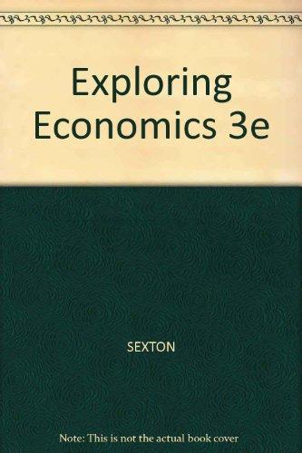 Exploring Economics 3e