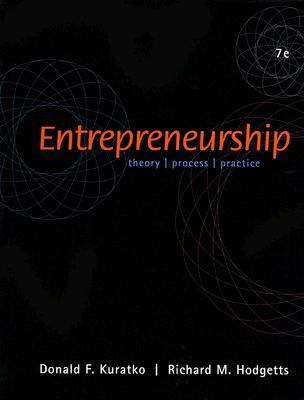 Entrepreneurship With Infotrac Theory, Process, Practice