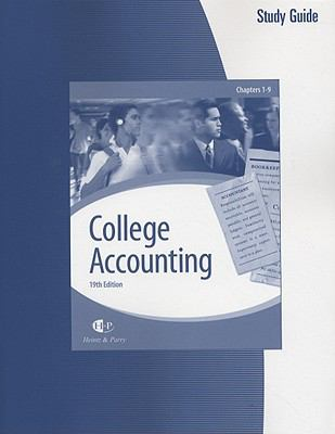 College Accounting (Chapters 1-9) with Working Papers