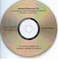 Student CD-ROM for Winston/Albright's Practical Management Science, Revised, 3rd
