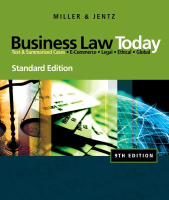 Business Law Today, Standard Edition