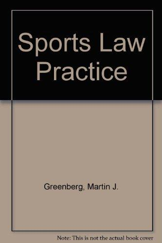 Sports Law Practice: With Supplements