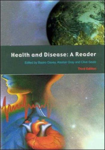 Health and Disease: A Reader (Health and Disease)