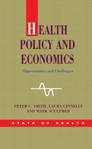 Health Policy and Economics (State of Health)