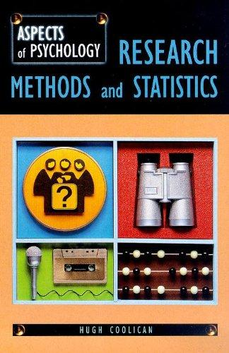 statistics and research methods This statistics tutorial is a guide to help you understand key concepts of statistics and how these concepts relate to the scientific method and research.