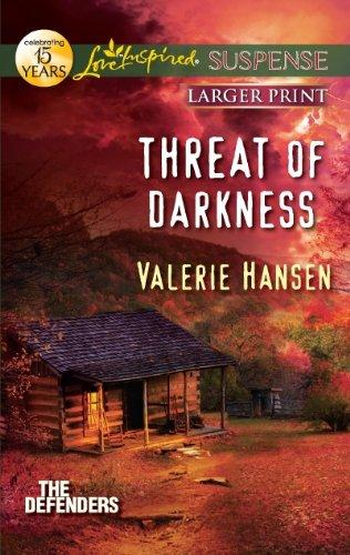 Threat of Darkness (Love Inspired Large Print Suspense)