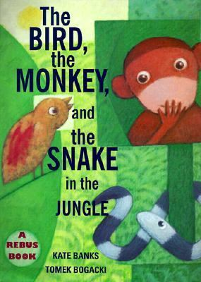 Bird, the Monkey and the Snake in the Jungle