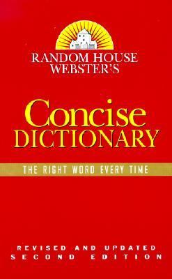 Random House Webster's Concise Dictionary