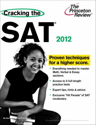 Cracking the SAT, 2012 Edition (College Test Preparation)
