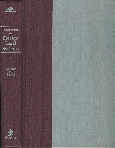 Introduction to Foreign Legal Systems