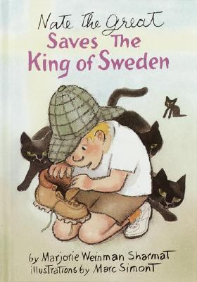 Nate the Great Saves the King of Sweden (Nate the Great Series) - Marjorie Weinman Sharmat - Hardcover