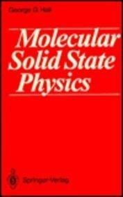 Molecular Solid State Physics
