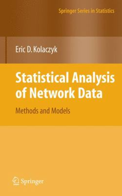 statistical analysis of network data methods and models pdf