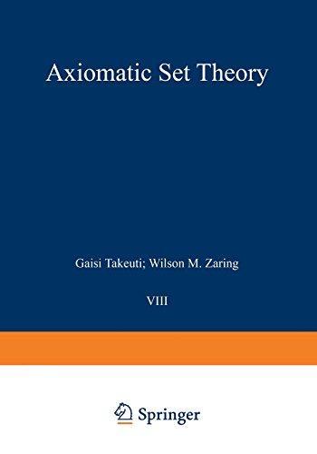 Axiomatic Set Theory (Graduate Texts in Mathematics)