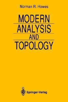 Modern Analysis and Topology