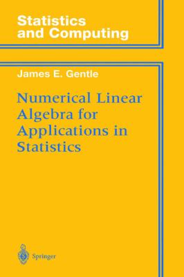 Numerical Linear Algebra for Applications in Statistics