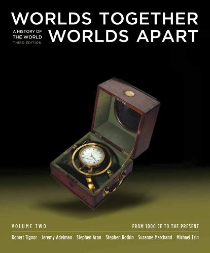 Worlds Together, Worlds Apart: A History of the World: From 1000 CE to the Present (Third Edition)  (Vol. 2)