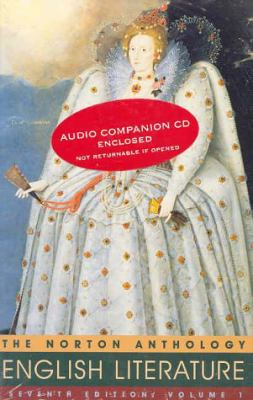 The Norton Anthology of English Literature (Volume 1 with Audio CD)