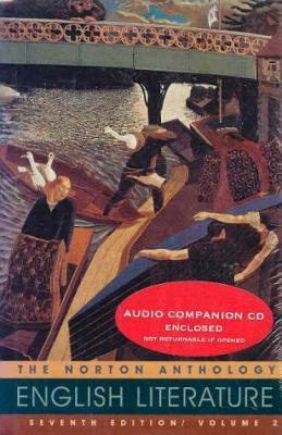 Norton Anthology of English Literature (Volume 2 with Audio CD)