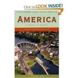 America: A Narrative History (v. 2)