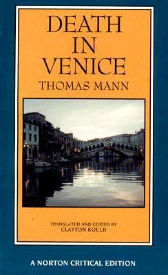 Death in Venice A New Translation Backgrounds and Contexts Criticism